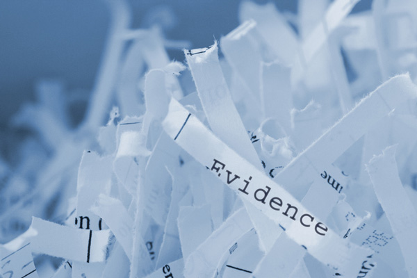 Shredded-Evidence